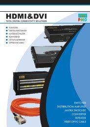 PMD DVI/HDMI Brochure - VIDELCO