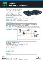 DC-AD2 VGA to DVI Converter - VIDELCO