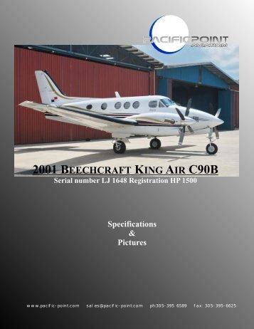 2001 BEECHCRAFT KING AIR C90B - Pacific Point Aviation