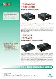 1T-FC-524 1T-FC-425 - VIDELCO