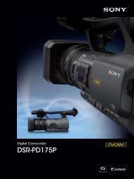 DSR-PD175P - Video Data