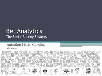 Bet Analytics - Wind Business Factor