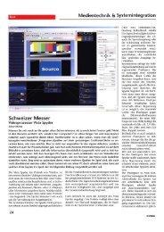 Schweizer Messer - Videoprozessor Vista Spyder - VIDELCO