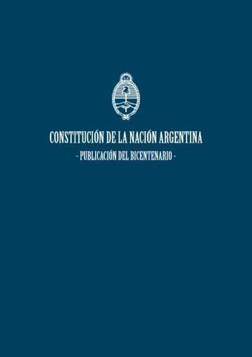 Constitución de la Nación Argentina - Biblioteca Digital - Corte ...