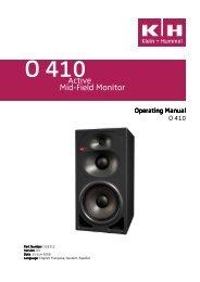 O 410 Operating Manual v03 - Videocation