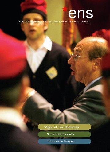 ENS 54 - Adéu al Cor Germanor - Abril 10 PDF - Ajuntament de Sant ...