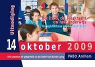 Miniconferentie - Hogeschool van Arnhem en Nijmegen