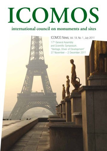 ICOMOS News, Vol. 18, No. 1, July 2011