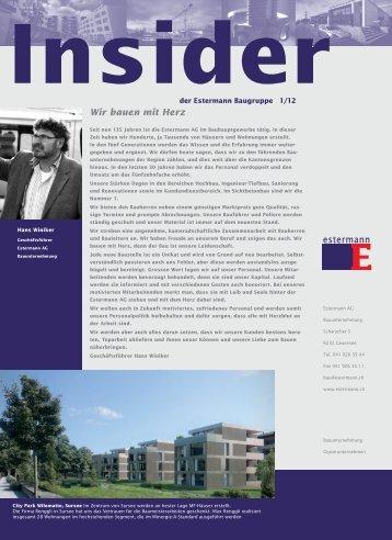 Wir bauen mit Herz - Estermann AG