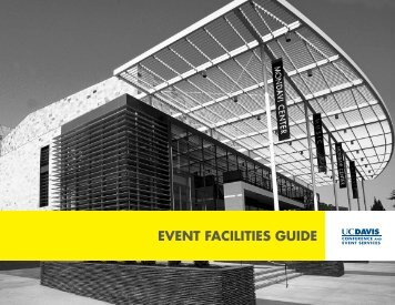 event facilities guide - UC Davis | Conference and Event Services ...