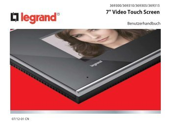 """7"""" Video Touch Screen"""
