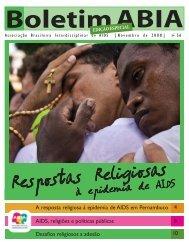 A Resposta Religiosa à Epidemia de AIDS em Pernambuco - Abia