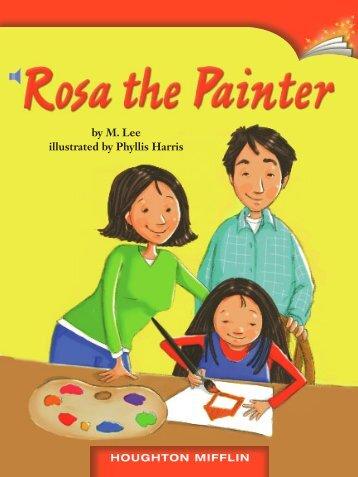 Lesson 12:Rosa the Painter