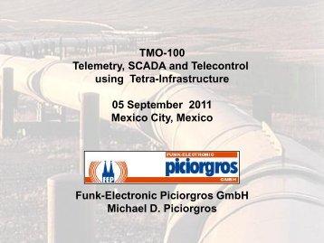Optimising TETRA for SCADA and Telemetry - Michael Piciorgros