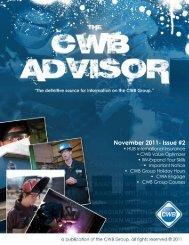 November 2011- Issue #2 - CWB Group