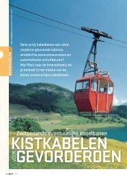 Zwitserlands avontuurlijke kabelbanen - Op Pad
