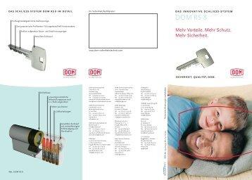 System DOM RS 8.pdf - Schlüsseldienst am Zoo NIG GmbH