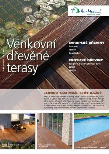 jednou tam může stát každý evropské dřeviny exotické ... - AU-MEX