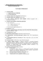 Határellenőrzés 1. - Rendészettudományi Kar - Nemzeti ...