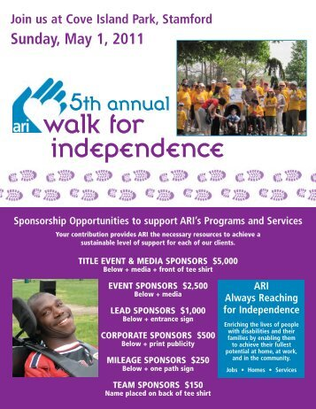 walk for independence - ARI