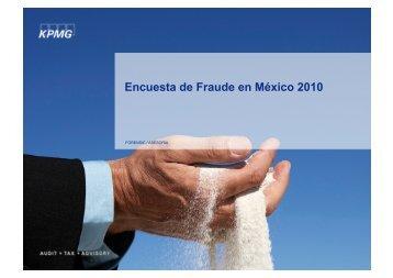 Encuesta de Fraude en México 2010 - IMEF