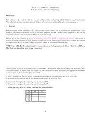Time-Division Multiplexing - Ugrad.cs.ubc.ca