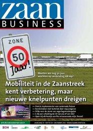 Mobiliteit in de Zaanstreek kent verbetering, maar ... - Zaanbusiness