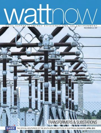 download a PDF of the full April 2013 issue - Watt Now Magazine