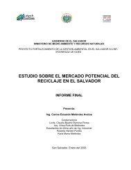Estudio sobre el Mercado Potencial del Reciclaje en El Salvador