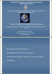 Marco geotectonico de Centroamerica g Antecedentes formacion ...