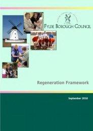 Regeneration Framework - Fylde Borough Council