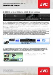 SR-HD2500 SDI Recorder - Video Data