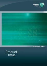 Buehler Motor Product Range 2010 - Buehler Motor, Inc.