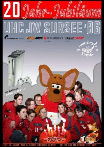 werbung/ Vereinsheft06 - UHC Sursee