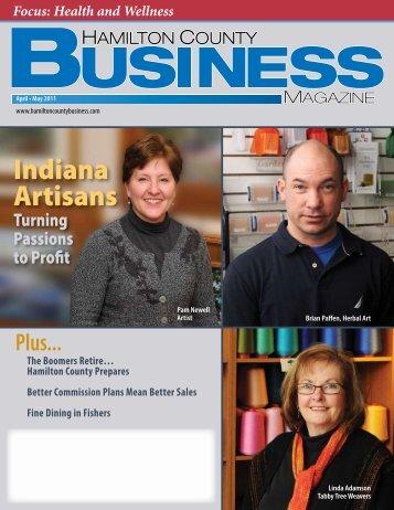 Indiana Artisans - Hamilton County Business Magazine