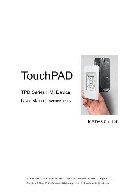 TouchPAD - ICSDataCom