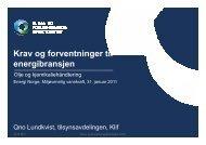 Klif - Energi Norge