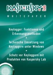 Keylogger: Funktionen und Erkennungsmethoden ... - B4B Schwaben