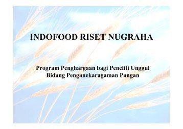 indofood riset nugraha - Lembaga Penelitian dan Pengabdian ...