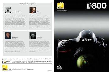The D800 On Assignment