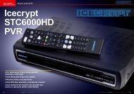 Icecrypt STC6000HD PVR - TELE-satellite International Magazine