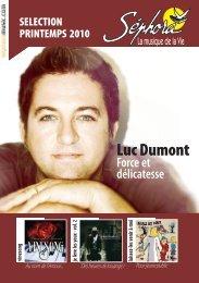 """Collection """"Un Chant Nouveau"""" - Sephoramusic.com"""