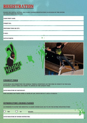 registration - Freestyle Academy