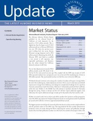 March 2010 UPDATE.indd - Blue Diamond Growers