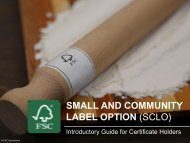 SMALL AND COMMUNITY LABEL OPTION (SCLO)