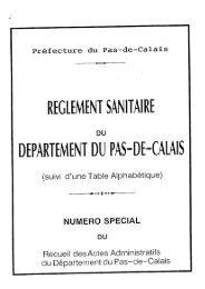 RSD 62 - Chambre d'agriculture du Nord-Pas-de-Calais