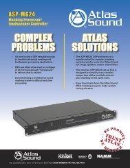 Brochure - Atlas Sound