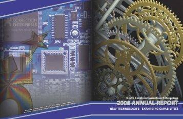 2008 Annual Report - Correction Enterprises