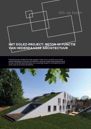 Het Dolez-project: beton in functie van hedendaagse ... - Febelcem