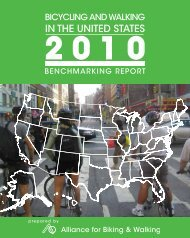 IN THE UNITED STATES - Alliance for Biking & Walking
